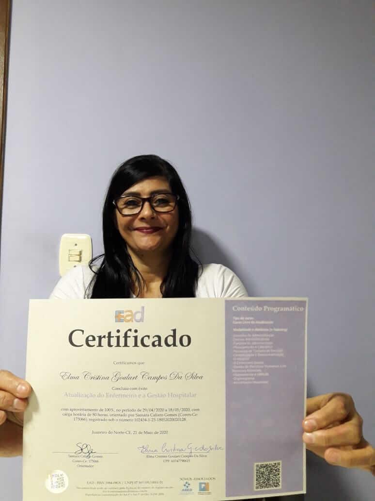 ELMA CRISTINA GOULART CAMPOS DA SILVA - CONTAGEM - MG