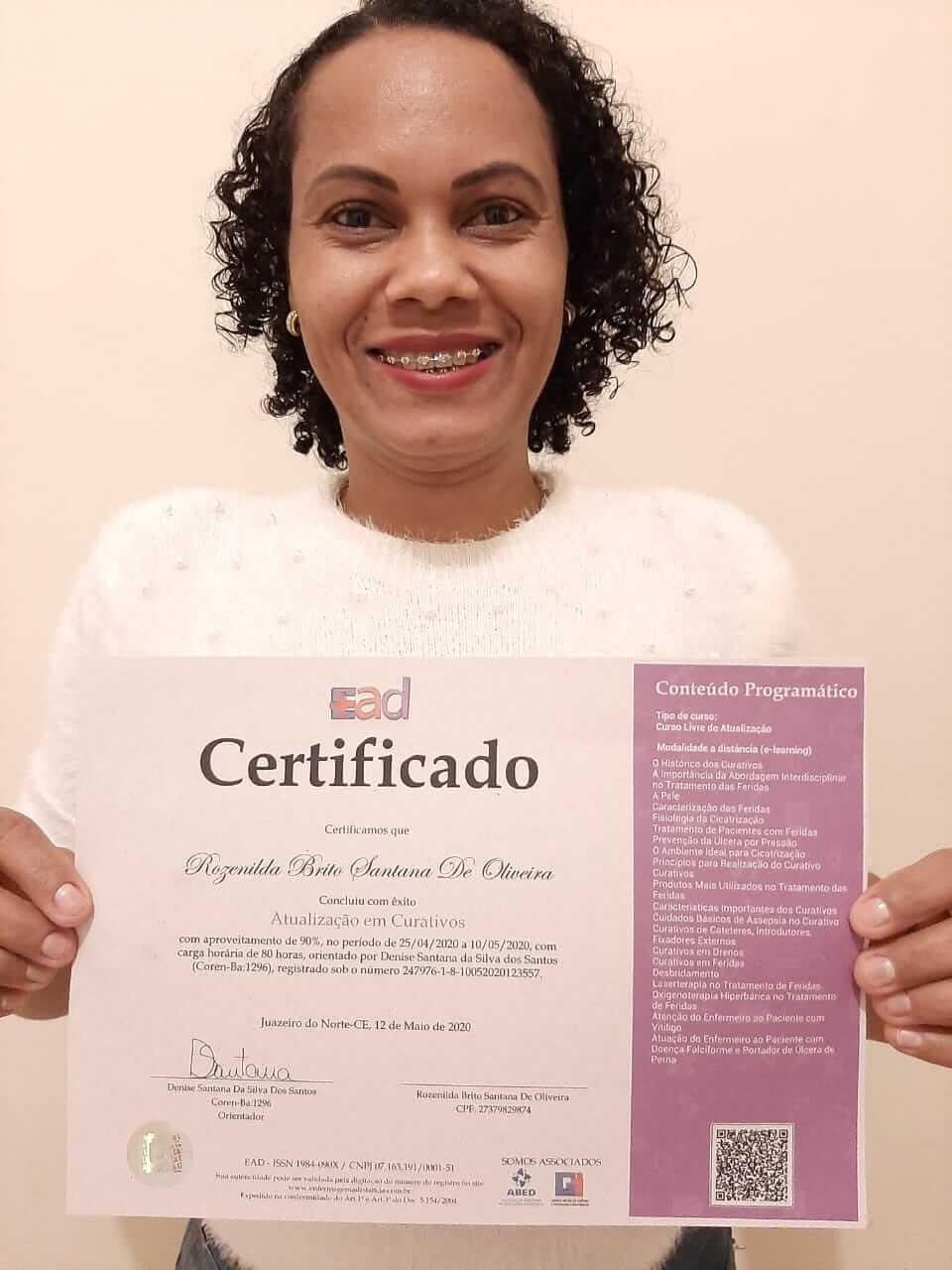 ROZENILDA BRITO SANTANA DE OLIVEIRA - TRÊS LAGOAS - MS